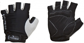 rukavice Progress Simple Mitts black/grey - vel.M